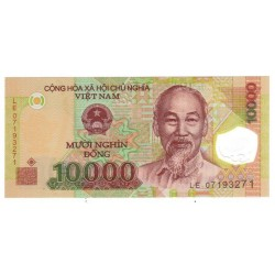 VIETNAM - PICK 119 - 10 000 DONG - 2007 - POLYMERE - NEUF