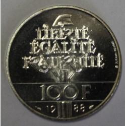 GADOURY 903 - 100 FRANCS 1988 TYPE FRATERNITE - KM 966