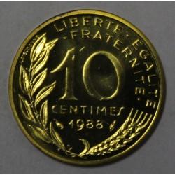 GADOURY 293 - 10 CENTIMES 1988 TYPE MARIANNE - KM 929