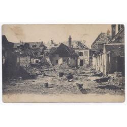 02160 - PONTAVERT - RUINES APRES LES BOMBARDEMENTS