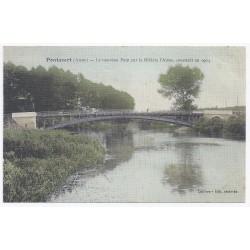 02160 - PONTAVERT - Le nouveau pont sur la rivière l'Aisne, construit en 1904