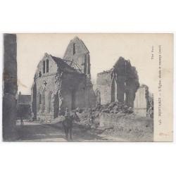 02160 - PONT ARCY - L'Église bombardée