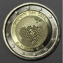 SLOVENIA - 2 EURO 2018 - WORLD DAY OF BEES - XF/UNC