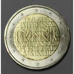 PORTUGAL - 2 EURO 2018 - 250ème Anniversaire de la Monnaie de l'INCM - SUP/FDC