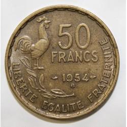 GADOURY 880 - 50 FRANCS 1954 B TYPE GUIRAUD - KM 91