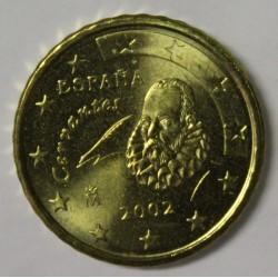 ESPAGNE - 10 CENT 2002 - CERVANTES