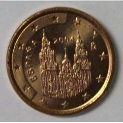 ESPAGNE - 1 CENT 2004 - COMPOSTELLE