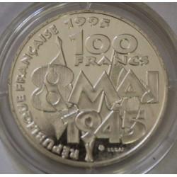 GADOURY 952 - 100 FRANCS 1995 TYPE COMMEMORATION 8 MAI 1945 - ESSAI