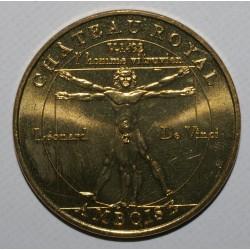 County 37 - AMBOISE - LÉONARD DE VINCI - THE VITRUVIAN MAN - MDP 2003