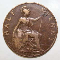 GREAT BRITAIN - KM 809 - 1/2 PENNY 1914 - GEORGE V