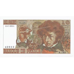FAY 63/11 - 10 FRANCS BERLIOZ - 03/07/1975 - PICK 150