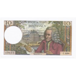 FAY 62/51 - 10 FRANCS VOLTAIRE - 02/09/1971 - PICK 147