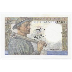 FAY 08/06 - 10 FRANCS MINEUR - 26/11/1942 - PICK 99