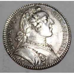 ETATS DE BRETAGNE - JETON EN ARGENT DE 1752 - LOUIS XV