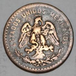MEXIQUE - KM 422 - 5 CENTAVOS 1916 MO - MEXICO