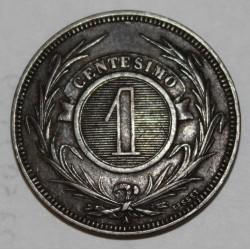 URUGUAY - KM 11 - 1 CENTESIMO 1869 A (PARIS)