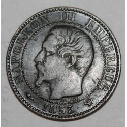 GADOURY 152 - 5 CENTIMES 1855 W Lille TYPE NAPOLEON III chien - KM 777