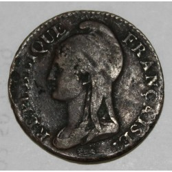 GADOURY 124 - 5 CENTIMES 1795 AN 4 A Paris TYPE DUPRE - KM 635