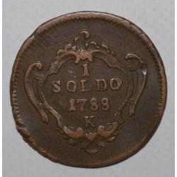 ITALIE - GORITZ - KM 27 - 1 SOLDO 1788 K