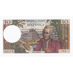 FAY 62/02 - 10 FRANCS VOLTAIRE - 04/04/1963 - PICK 147