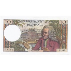 FAY 62/27 - 10 FRANCS VOLTAIRE - 06/07/1967 - PICK 147