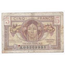 FAY VF 29/01 - 5 FRANCS TRESOR FRANCAIS - 1947 - PICK M6