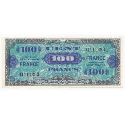 FAY VF 25/1 - 100 FRANCS VERSO FRANCE - 1945 - SANS SÉRIE - PICK 105s