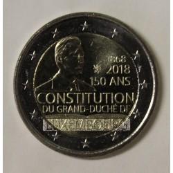 LUXEMBOURG - 2 EURO 2018 - 150 ANS DE CONSTITUTION
