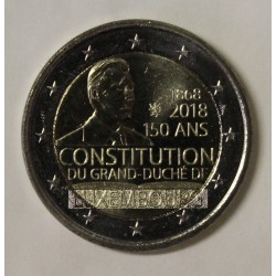 LUXEMBOURG - 2 EURO 2018 - 150 YEARS CONSTITUTION