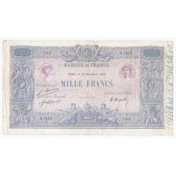 FAY 36/36 - 1000 FRANCS BLEU ET ROSE - 30/11/1920 - TRES BEAU - PICK 67