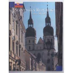 SLOVAQUIE - COFFRET PROTOTYPE 8 PIECES - ESSAI - 2004