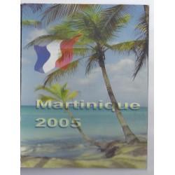MARTINIQUE - COFFRET PROTOTYPE 8 PIECES - ESSAI - 2005