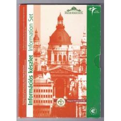 HONGRIE - COFFRET INITIATION A L' EURO - 2003