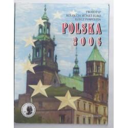 POLOGNE - COFFRET PROTOTYPE 8 PIECES - ESSAI - 2004