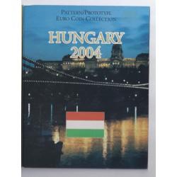 HONGRIE - COFFRET PROTOTYPE 8 PIECES - ESSAI - 2004