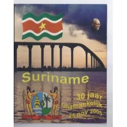 SURINAME - COFFRET PROTOTYPE 8 PIECES - ESSAI - 2005