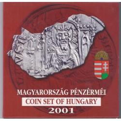 HONGRIE - COFFRET BRILLANT UNIVERSEL 2001 - 7 PIECES