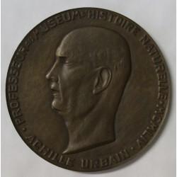 FRANCE - MÉDAILLE - ACHILLE URBAIN - PROFESSEUR AU MUSÉE D'HISTOIRE NATURELLE - 1934 - 1954
