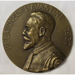 FRANCE - MÉDAILLE - PROFESSEUR LAIGNEL LAVASTINE - 1937