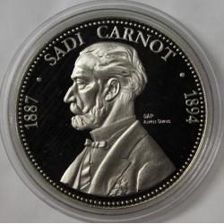 FRANCE - MÉDAILLE - PRÉSIDENT SADI CARNOT - 1887 - 1894