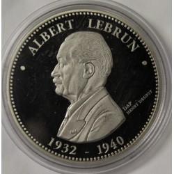 FRANCE - MÉDAILLE - PRÉSIDENT ALBERT LEBRUN - 1932 - 1940