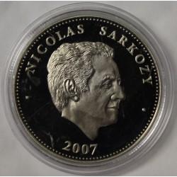 FRANCE - MÉDAILLE - PRÉSIDENT NICOLAS SARKOSY - 2007
