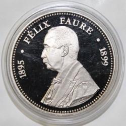 FRANCE - MÉDAILLE - PRÉSIDENT FÉLIX FAURE - 1895 - 1899