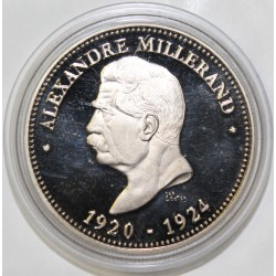 FRANCE - MÉDAILLE - PRÉSIDENT ALEXANDRE MILLERAND - 1920 - 1924