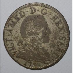 ITALIE - KM 94 - 20 SOLDI 1795