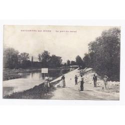 02190 - NEUCHATEL SUR AISNE - LE PONT DU CANAL