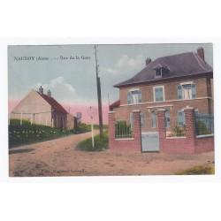 02420 - NAUROY - RUE DE LA GARE