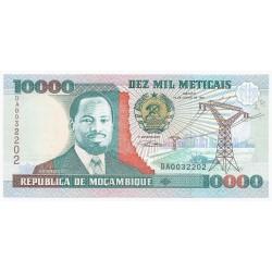 MOZAMBIQUE - PICK 137 - 10000 METICAIS - 16/06/1991