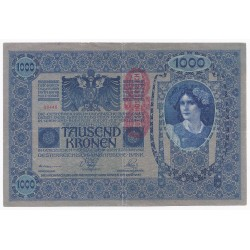 AUSTRIA - PICK 59 - 1000 KRONEN - ND 1919