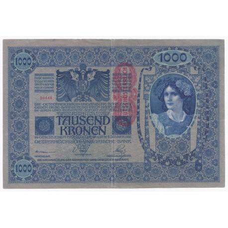 AUTRICHE - PICK 59 - 1000 KRONEN - ND 1919